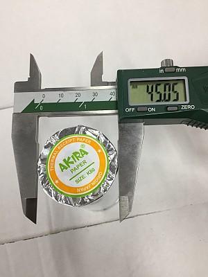 Giấy in hóa đơn Akira k80 phi 45mm