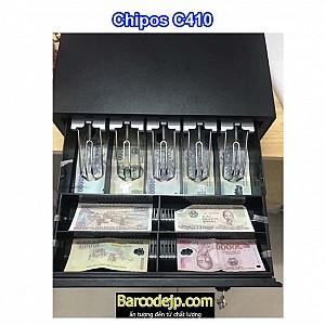 Két thu ngân siêu thị Chipos C410