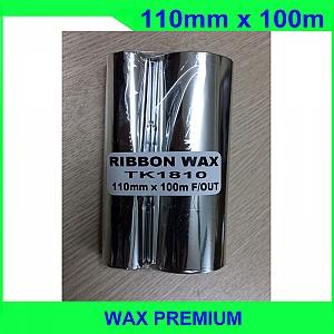 Mực in mã vạch wax premium 110mm x 100m