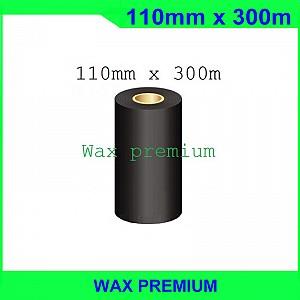 Mực in mã vạch wax premium FO 110mm x 300m