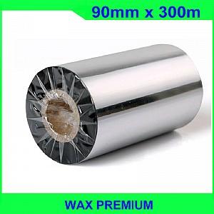 Mực in mã vạch wax premium FO 90mm x 300m
