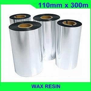 Mực in mã vạch wax-resin Ricoh B110A 110mm x 300m