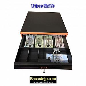 Ngăn kéo đựng tiền thu ngân Chipos Ek360